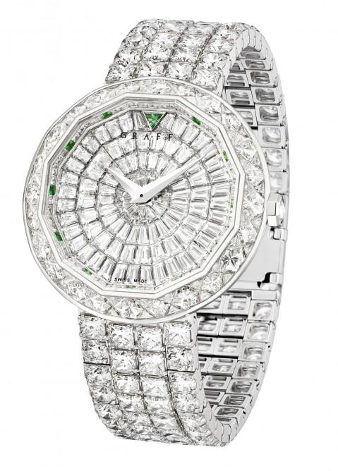 Один из номинантов - женские часы, 525 000 швейцарских франков, Графф Superstar