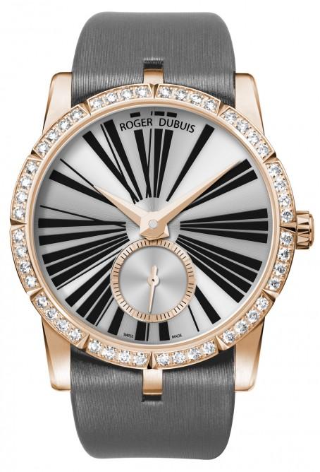 Один из номинантов - женские часы, 25 000 швейцарских франков, розовое золото, бриллианты, Роджер Dubuis