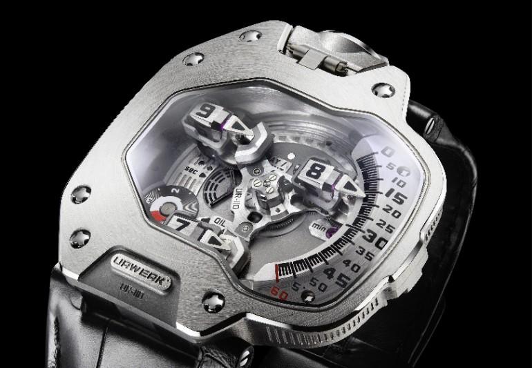 Победитель в категории Дизайн, 87 000 швейцарских франков, Urwerk UR-110