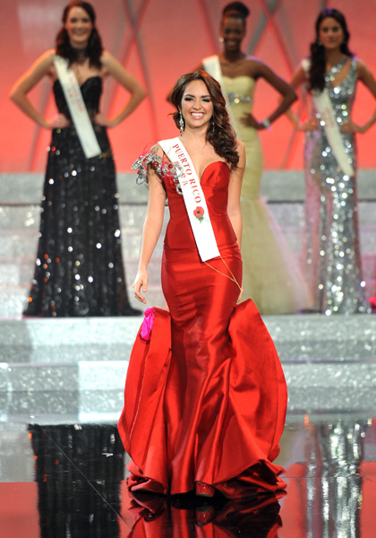 Третье место - Мисс Пуэрто Рико