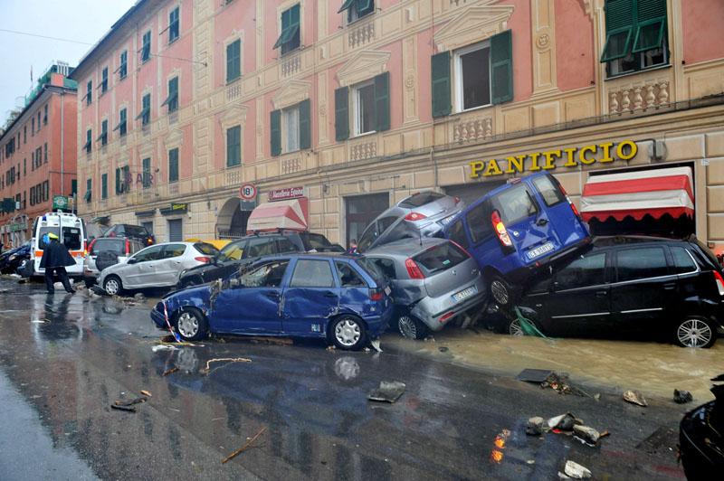 Улицы Генуи