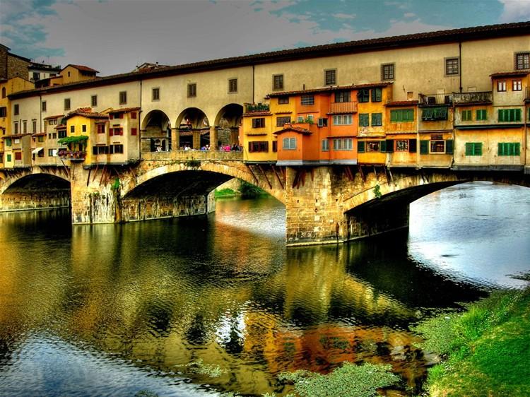 Мост Поте Веккьо - золотой мост Флоренции