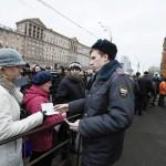 Очереди в Американское Посольство в Москве