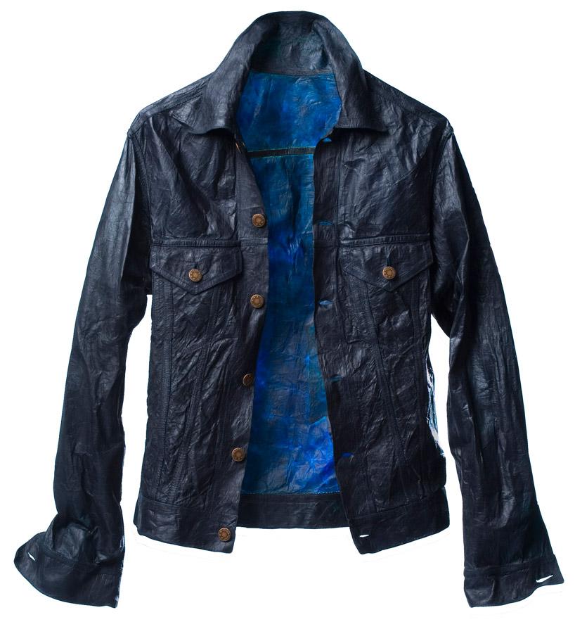 био-джинсовая куртка