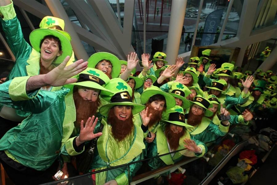 262 человека оделись в костюмы гномов в Дублине