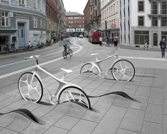 Интеллектуальный прокат велосипедов от RAFAA в Копенгагене