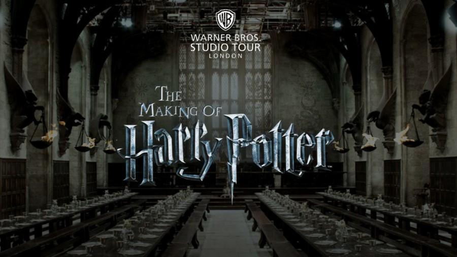 Заставка к фильму о Гарри Поттере