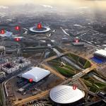 Олимпийский парк в Стратфорде
