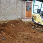 Древнее захоронение под домом в Англии