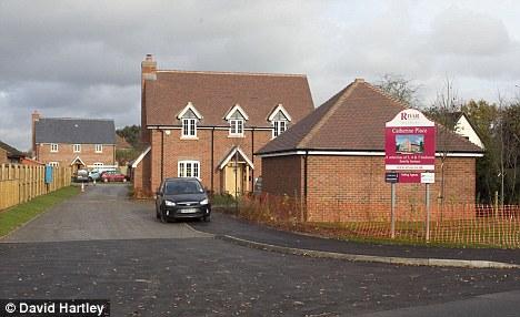 Деревня Bucklebury - место Екатерины, в честь будущей королевы