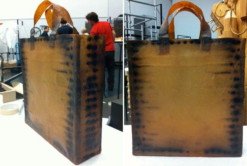 Процесс создания сумки