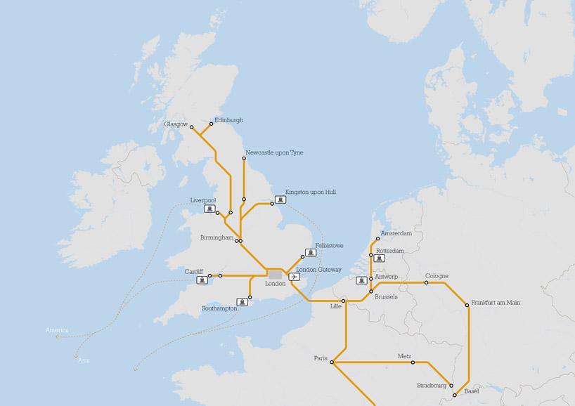 Транспортная связь Великобритании с другими странами