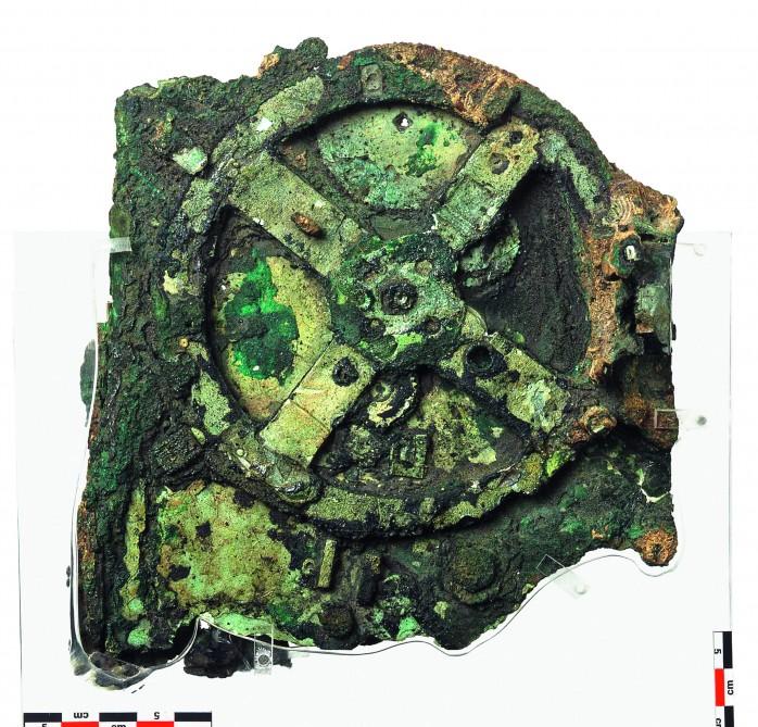 Основной фрагмент машины Антикитера