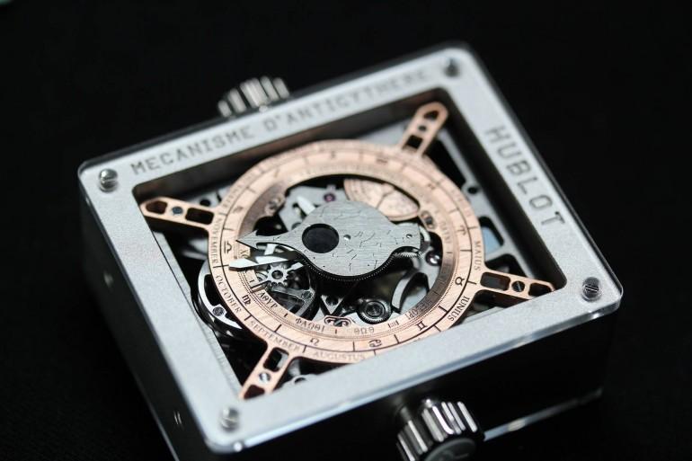 Наручные часы от Hublot, взявшие за основу древнейший механизм