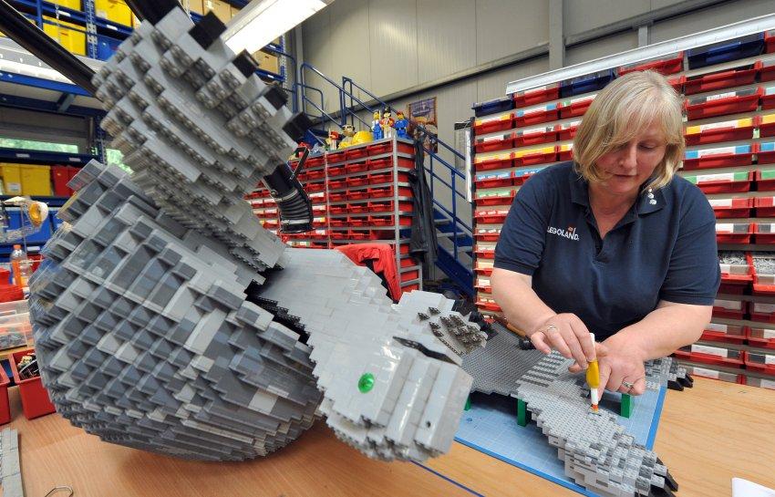 Вера Фельдман является дизайнером Legoland Германии