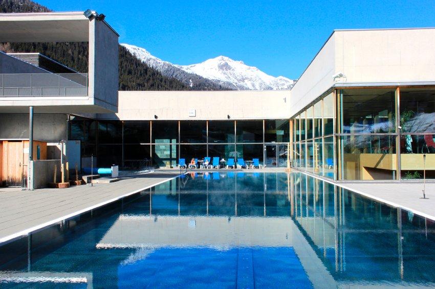 Оздоровительный центр Аrlberg-well в Санкт-Антоне в Австрии