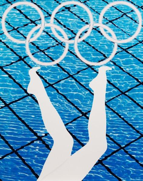 Плакат Антея Гамильтон для Официальной церемонии открытия Олимпийских игр 2012 года в Лондоне