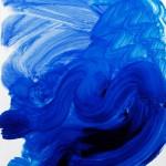 Плакат Говарда Ходжкина, Плавание, динамика воды в бассейне