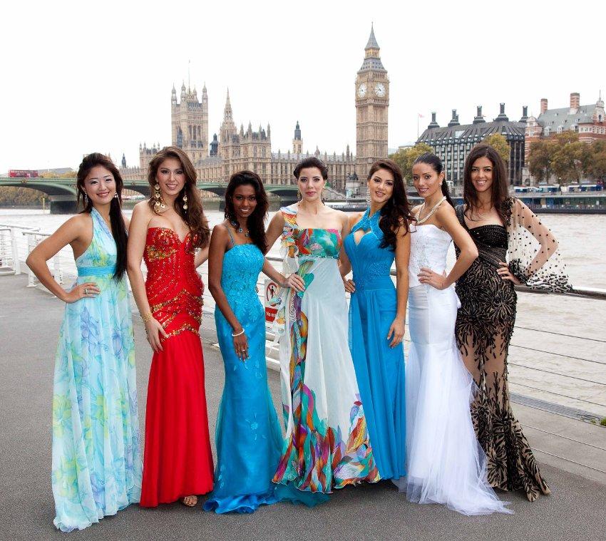 Мисс Сингапур, Мисс Перу, Мисс Маврикий, Мисс Панама, Мисс Парагвай, Мисс Латвия, Мисс Египет