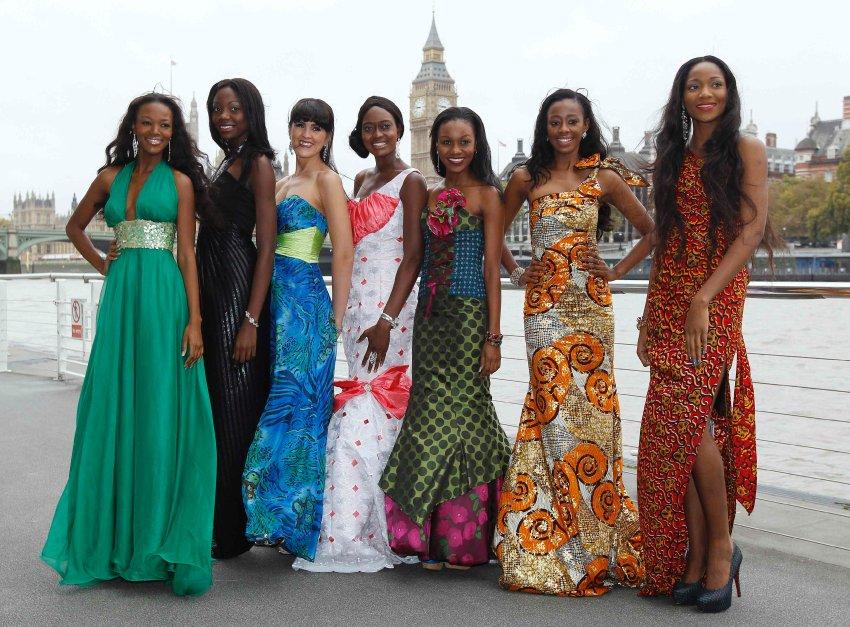 Мисс ЮАР, Мисс Зимбабве, Мисс Намибия, Мисс Сьерра-Леоне, Мисс Ботсвана, Мисс Либерии, Мисс Нигерия