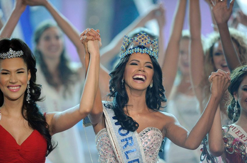 Мисс Венесуэла обошла более ста конкуренток и получила заветную награду
