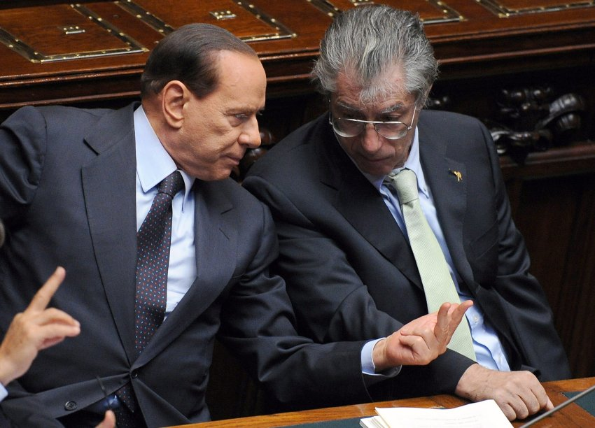 С бывшим соратником, а теперь противником Умберто Босси