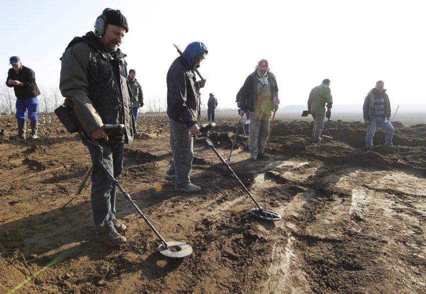 В результате поиска найдено 280 серебряных монет времен тридцатилетней войны