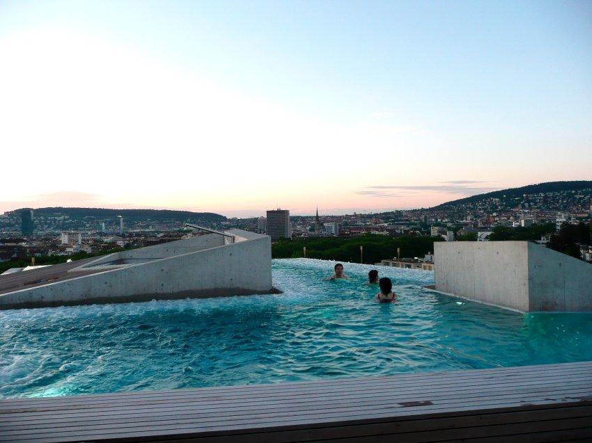 Splashing - термальные ванны в Цюрихе