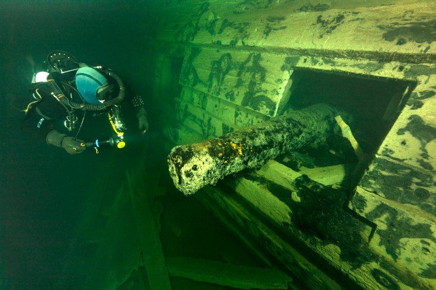 В Швеции нашли останки корабля 17-го столетия