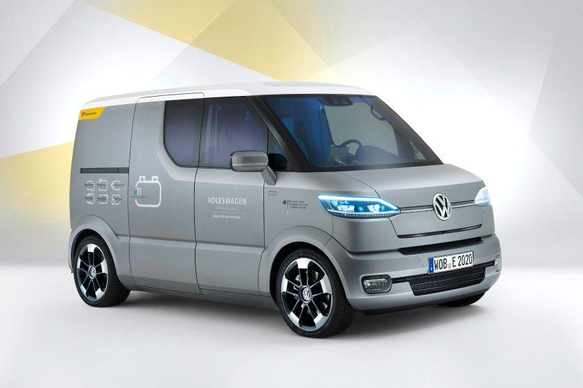 Новый мини-вэн Volkswagen питается от электричества