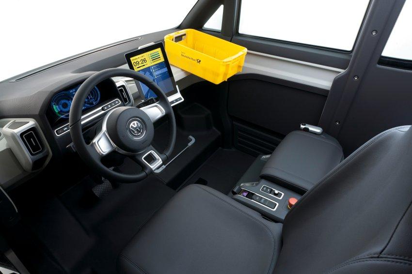 Цифровое оборудование в классической кабине Volkswagen