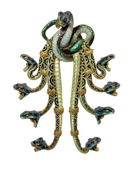 Золото, эмаль, Рене Лалик в Париже 1898/99