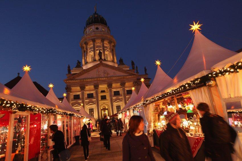 Один из любимых рынков Берлина расположен на центральной площади