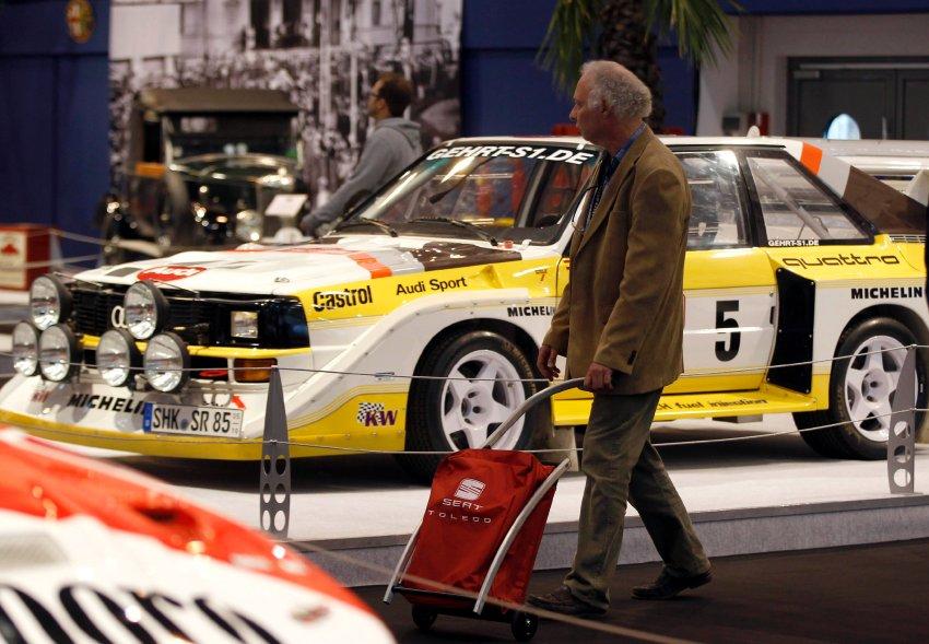 Audi Quattro на Essen Motor Show