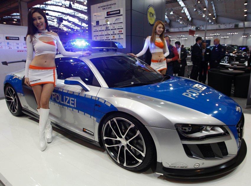 Audi R8 останется несбыточным сном для немецких полицейских