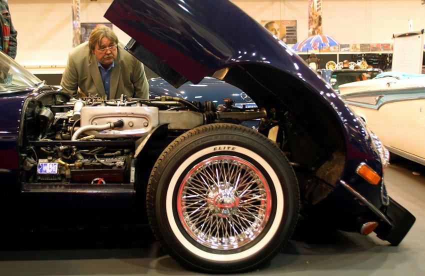 Jaguar E-Type 1971 года на Essener Motor Show