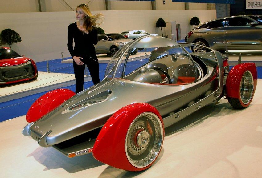 Взгляд в будущее - Sbarro на Essener Motor Show