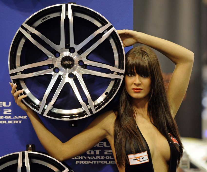 Motor Show in Essen - презентация легкосплавных дисков