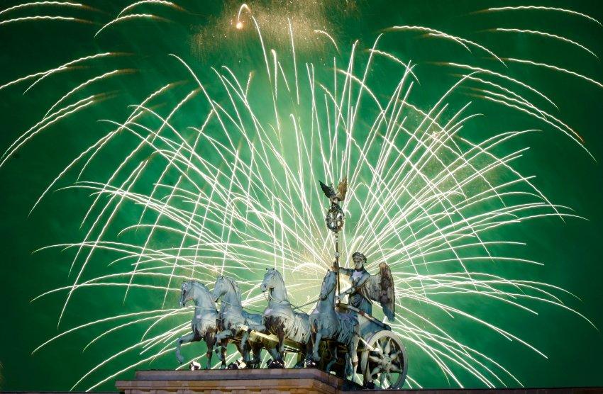Крупнейший Новый год Германии в Берлине