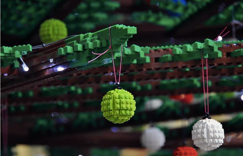 LEGO-ель в Лондоне