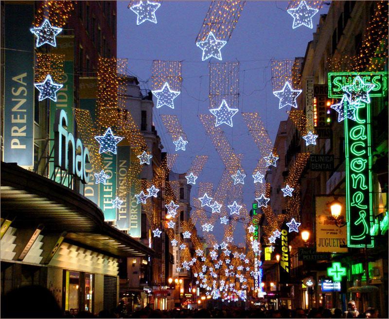 Новогодний Мадрид