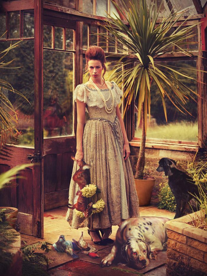 Охота, фотограф моды Miss Aniela из Великобритании