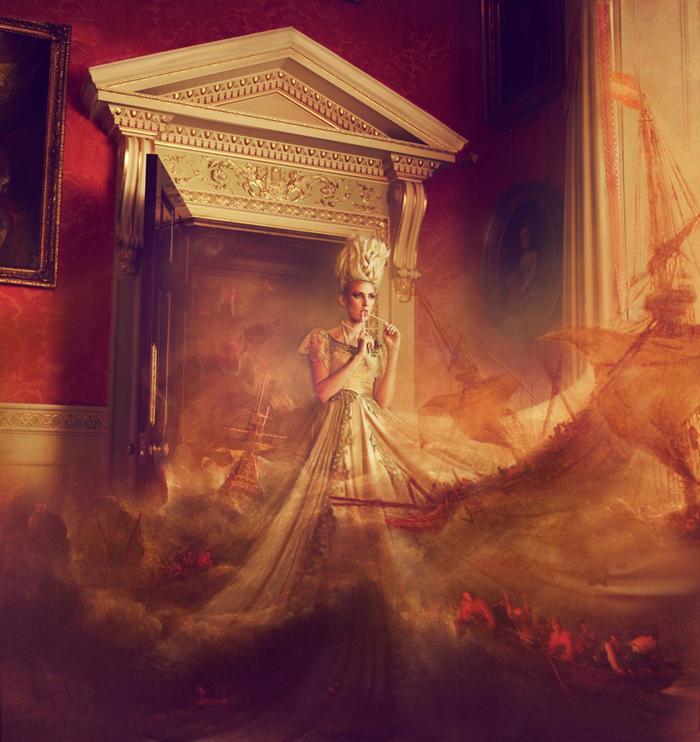 Шторм у дверей, фотограф моды Miss Aniela из Великобритании