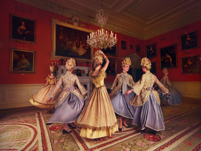 Вихрь танца, фотограф моды Miss Aniela из Великобритании