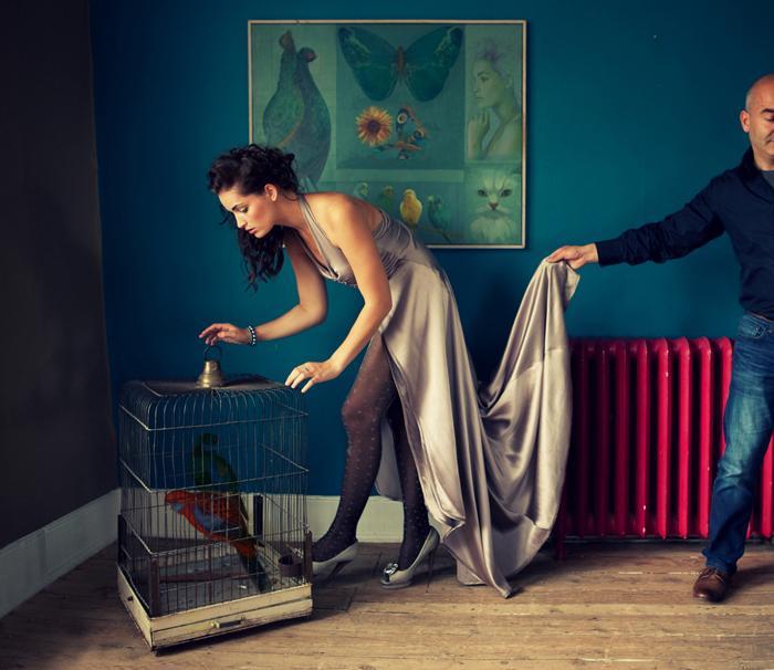 Общение существ, фотограф моды Miss Aniela из Великобритании