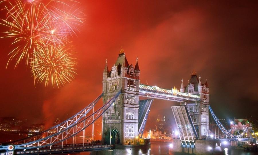 Гигантский фейерверк Лондона