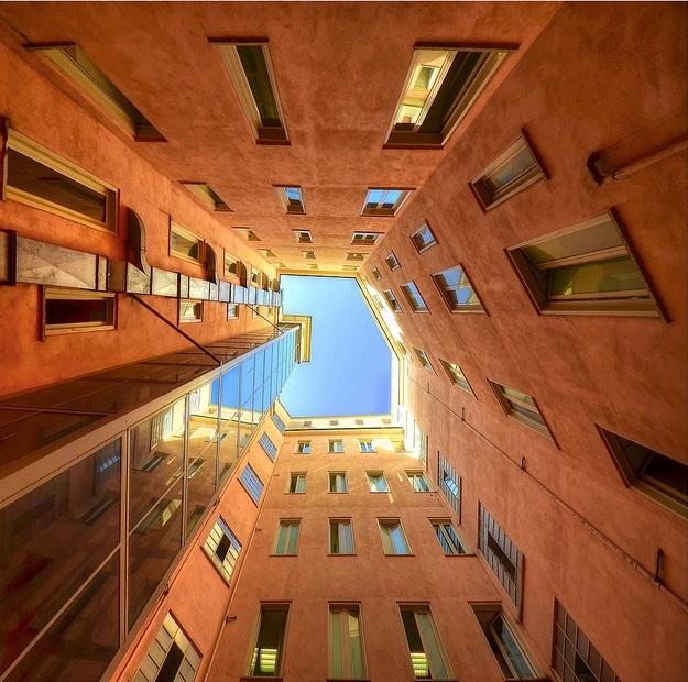 Лифт до неба в Риме