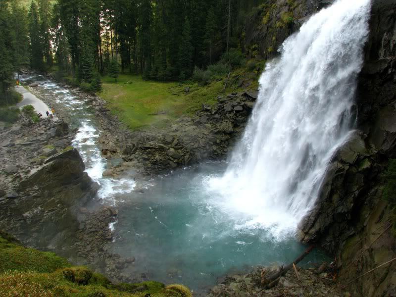 Криммльский водопад - самый высокий в Европе