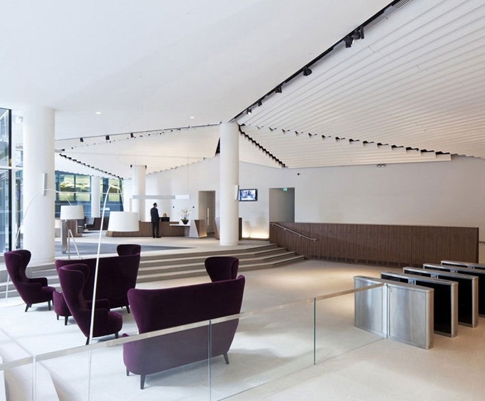 Офисные помещения инвестиционного банка Macquarie's в Лондоне