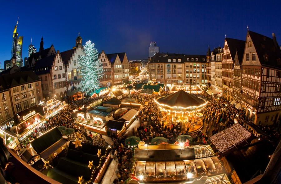 Рождественский базар во Франкфурте-на -Майне